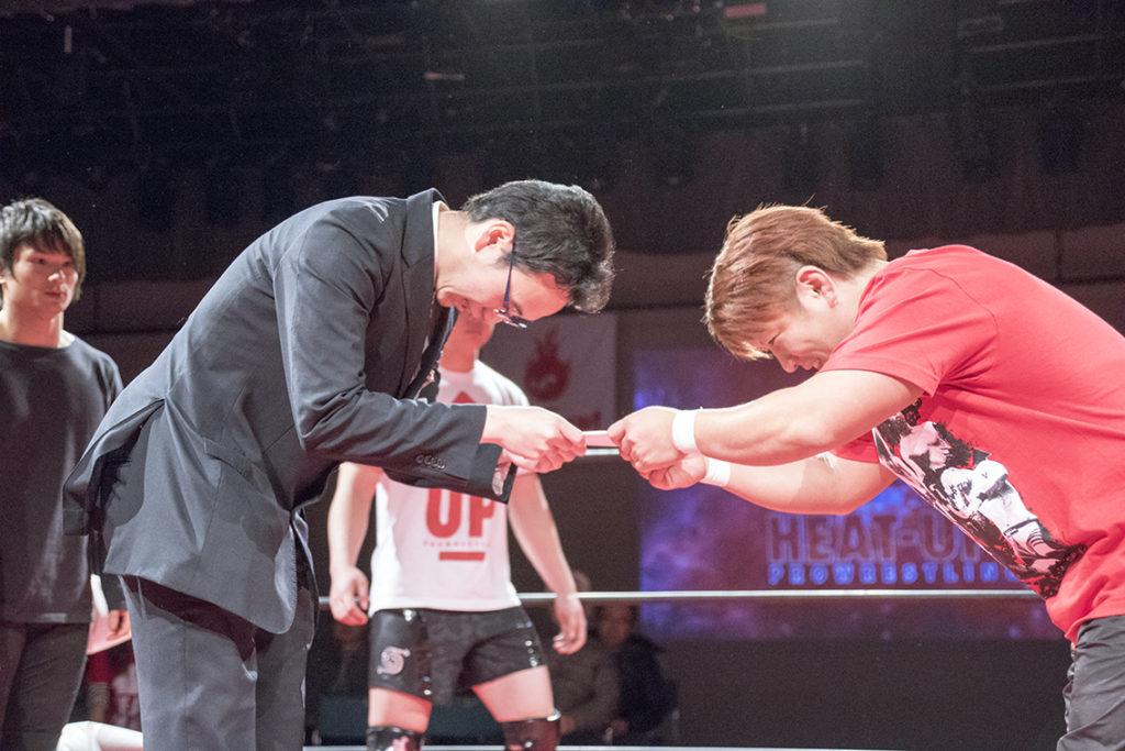1月19日 HEAT-UP新百合ヶ丘大会にて障がい者支援を実施