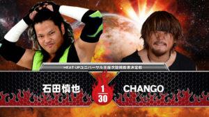 3月5日(日)HEAT-UP高島平大会の石田対CHANGOは「調印書署名マッチ」に決定