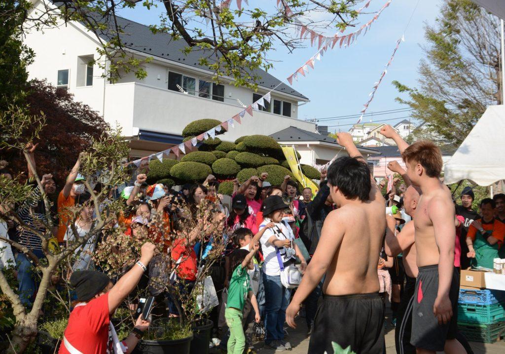 川崎市宮前区にある小泉農園で開催された「農園フェス」にHEAT-UPが参加しました