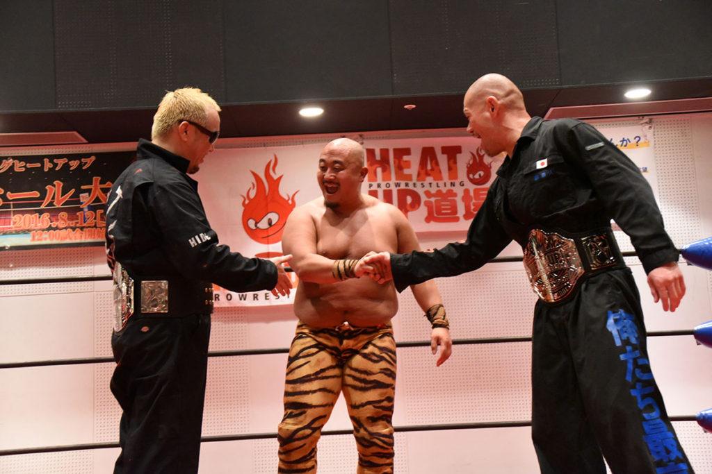 4月8日(土)HEAT-UP横浜にぎわい座大会 全試合結果