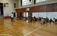 久本小学校「寺子屋」にてプロレスを通じてのトレーニング方法講座を行いました