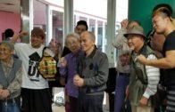 川崎市麻生区にある特別養護老人ホーム金井原苑で行われた秋祭りにHEAT-UPが参加いたしました