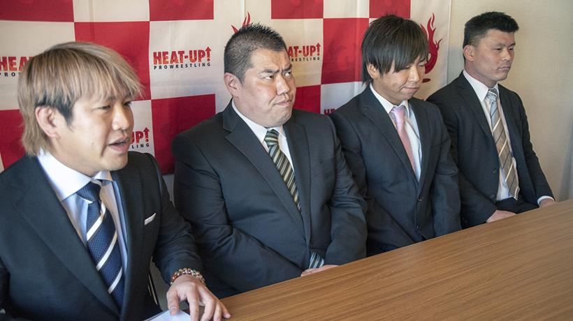 HEAT-UPにガッツ石島ら元ガッツワールド勢が電撃入団!