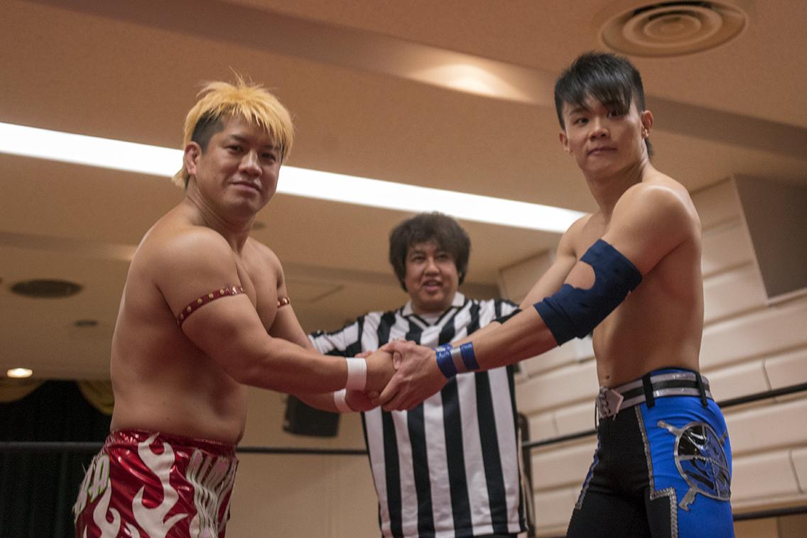 田村和宏vsエーリエル・スッナイパー・ニック