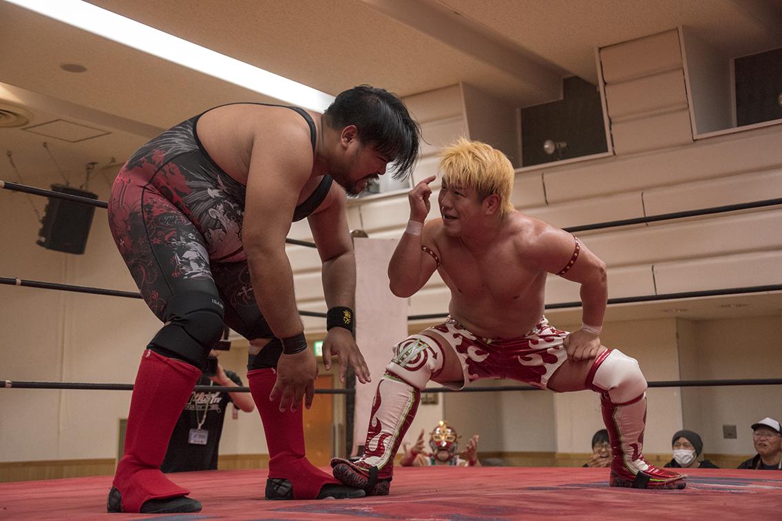 田村和宏vsE.K.バギー