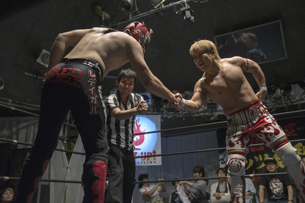 田村和宏 vs レッドイーグル