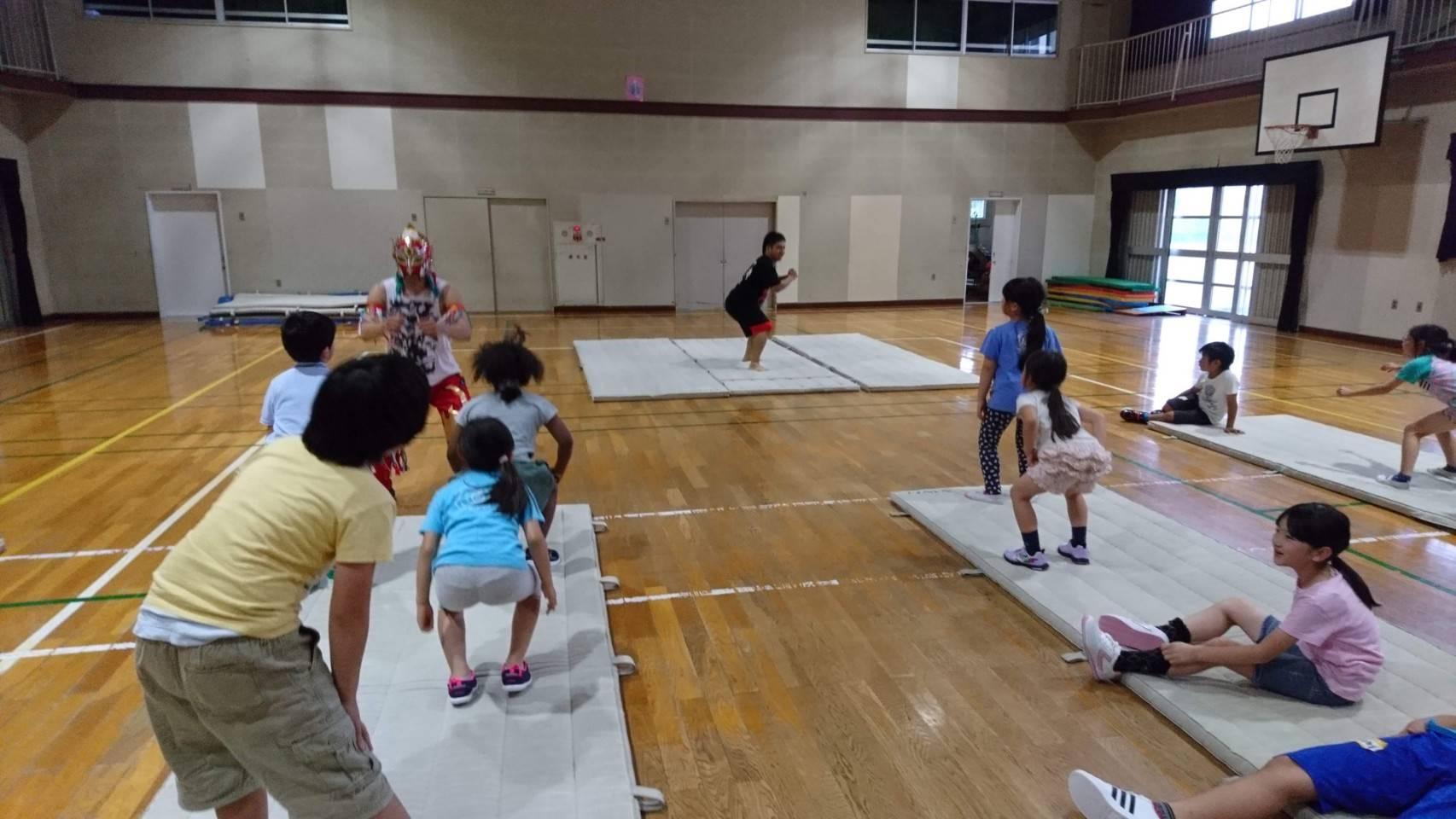 月イチ社会貢献キャラバン 6月は子供向け体力向上セミナーを開催!