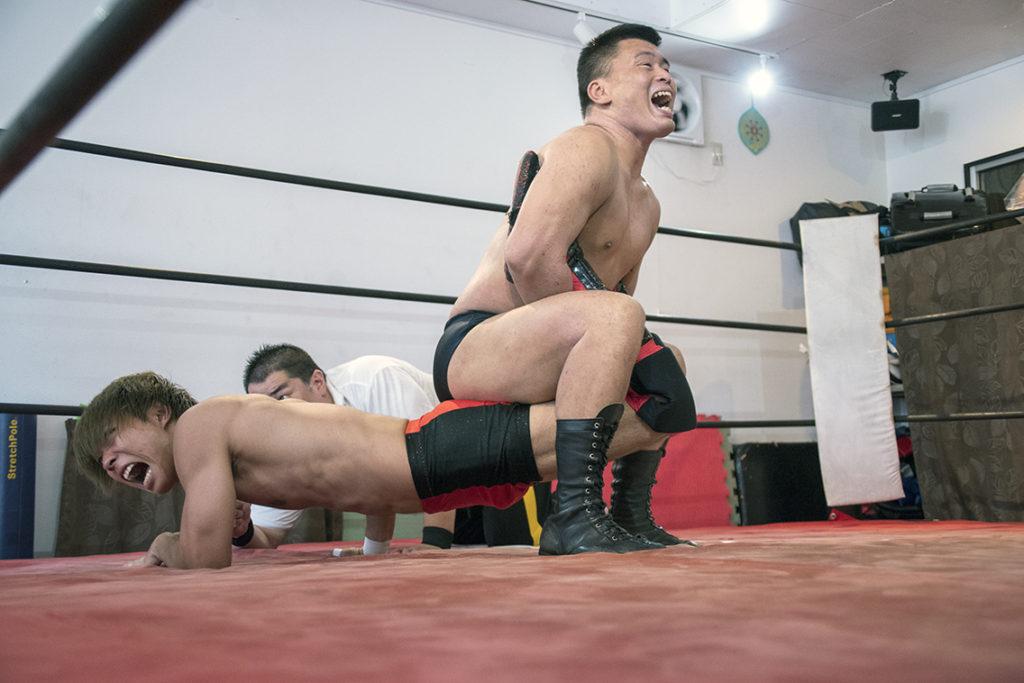飯塚優vs室田渓人