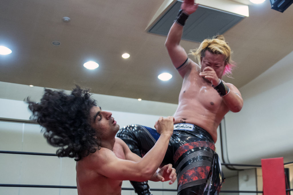 7月28日(土)HEAT-UP板橋グリーンホール大会 全試合結果