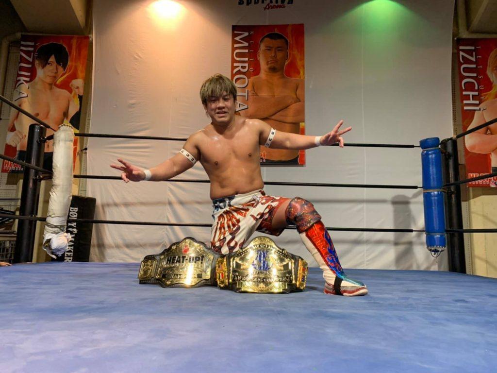 プロレスリングHEAT-UP2月名古屋大会 全試合結果