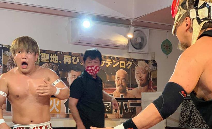 TAMURA vs 藤田ミノル