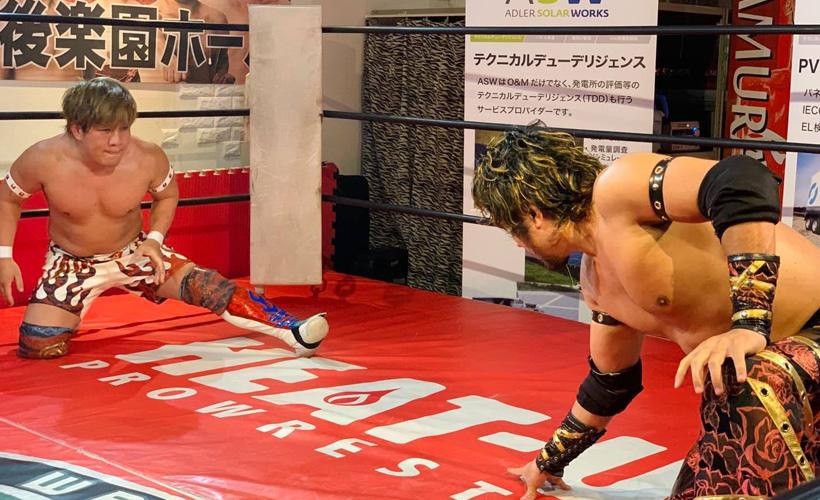 TAMURA vs 藤田峰雄