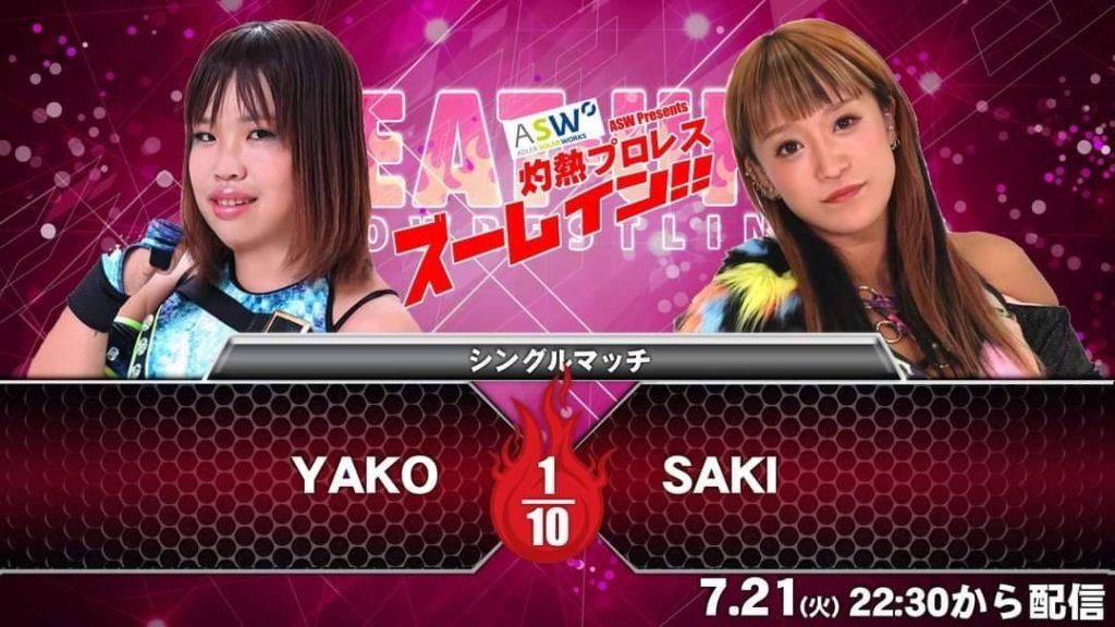 YAKO vs SAKI