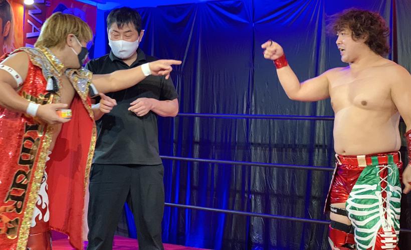 TAMURA vs アミーゴ鈴木