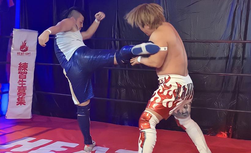 TAMURA&藤田峰雄 vs チチャリート・翔暉&若松大樹
