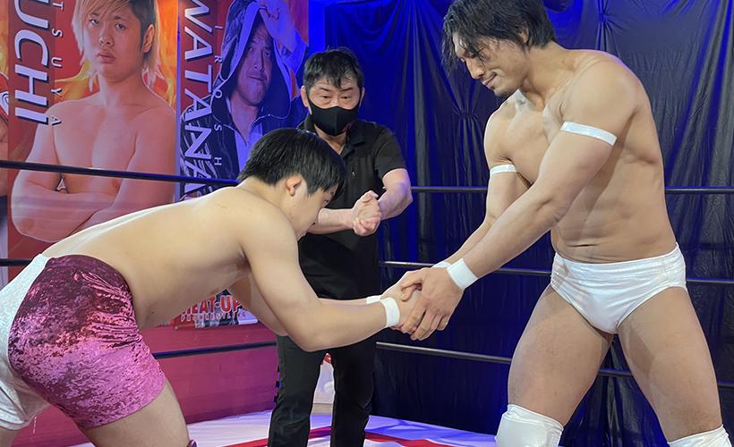 TAMURA&今井礼夢 vs 翔太&鈴木心