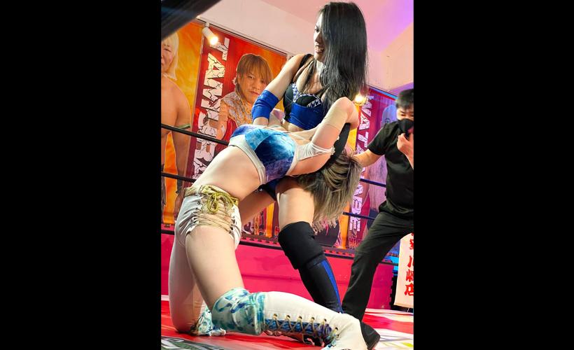 松井珠紗 vs 櫻井裕子