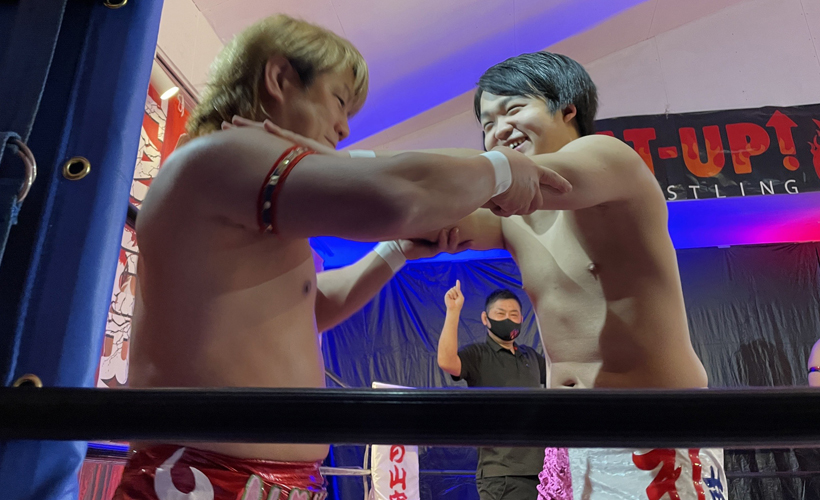 TAMURA&今井礼夢 vs 兼平大介&SHINGO